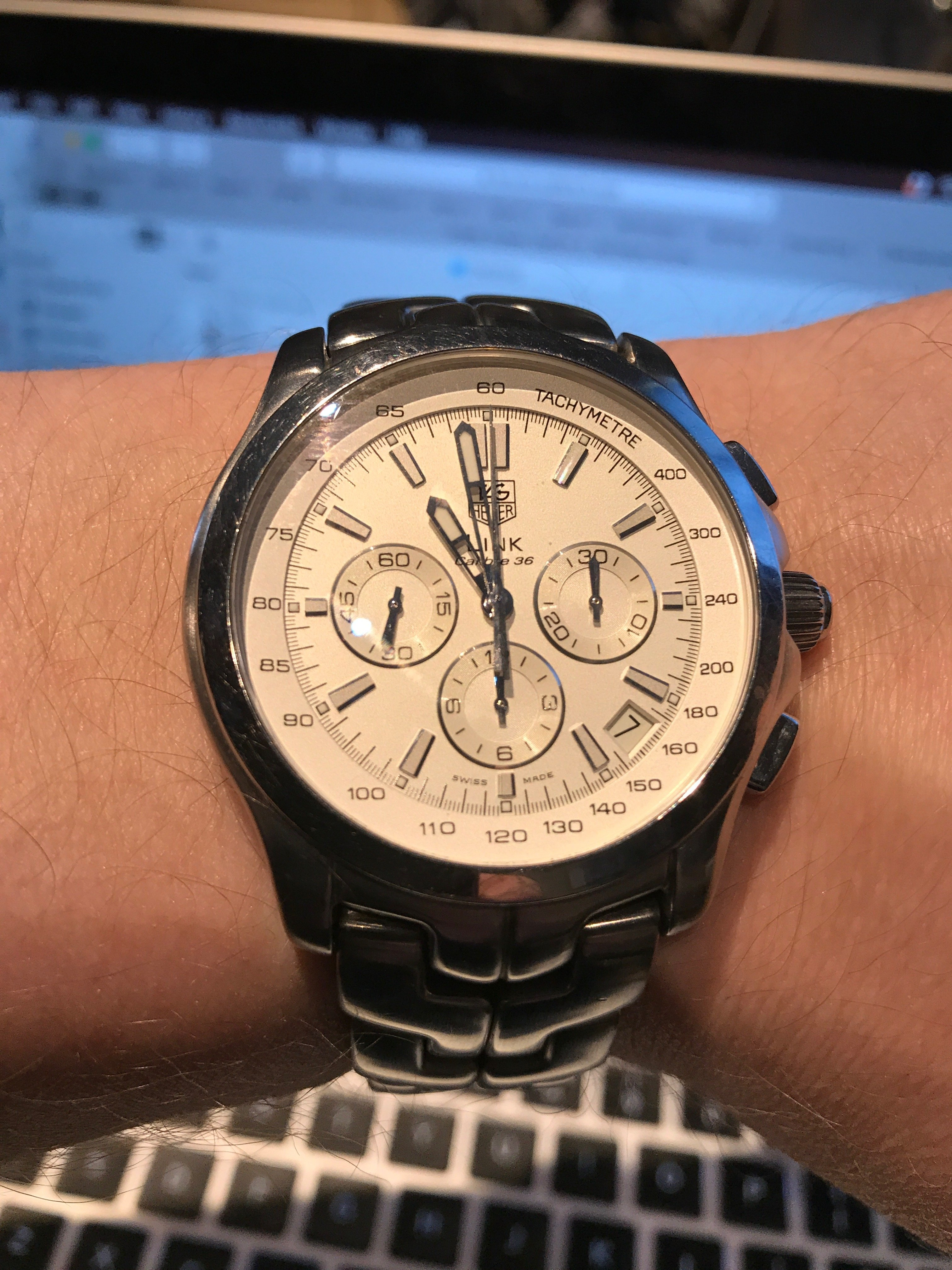93e68c707d3 WITHDRAWN - REDUCED, OPEN TO OFFERS / TRADE - TAG Heuer Link Calibre ...