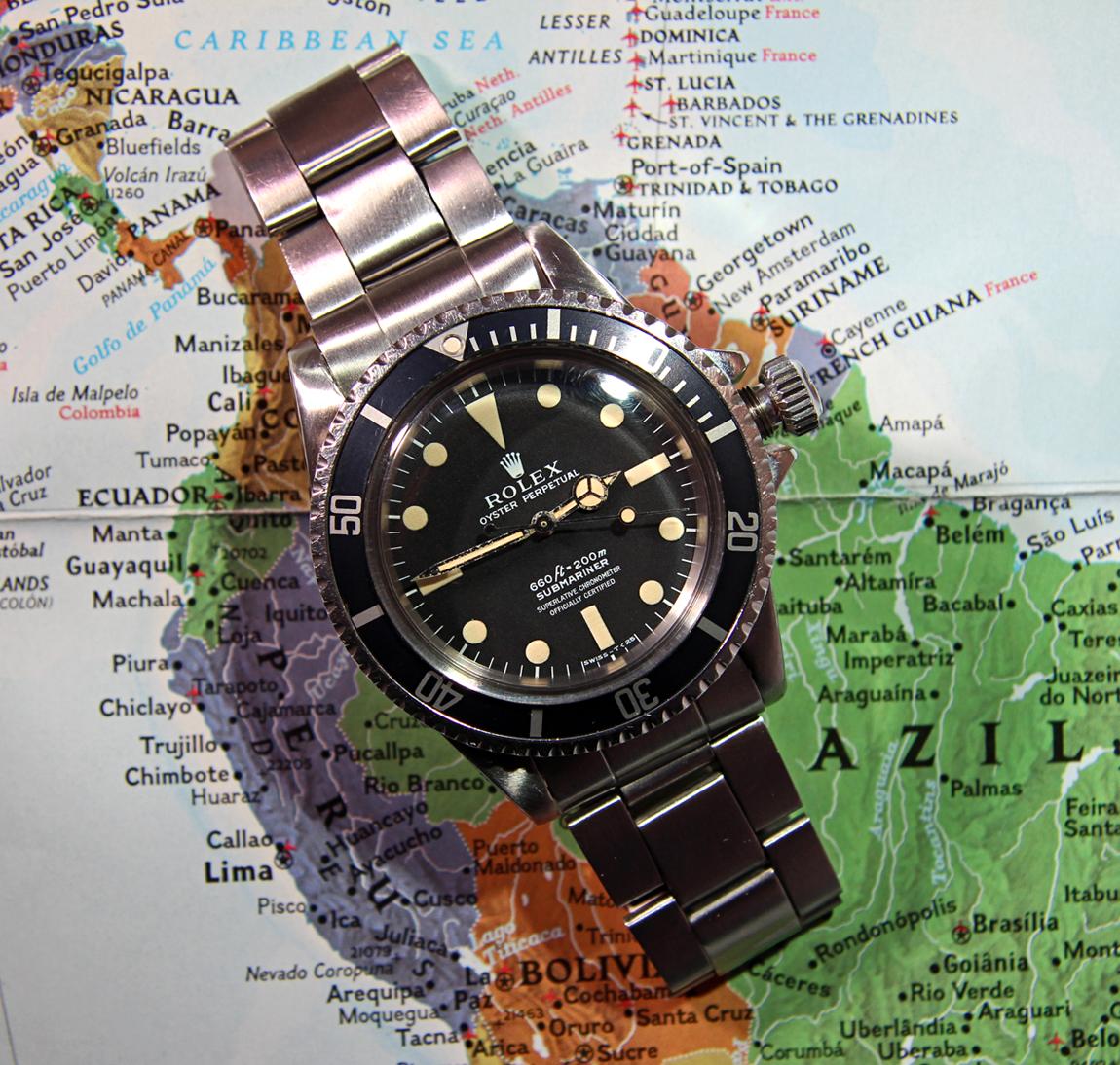 Sold Reduced Vintage Rolex Ref 5512 Submariner W Gorgeous Matte