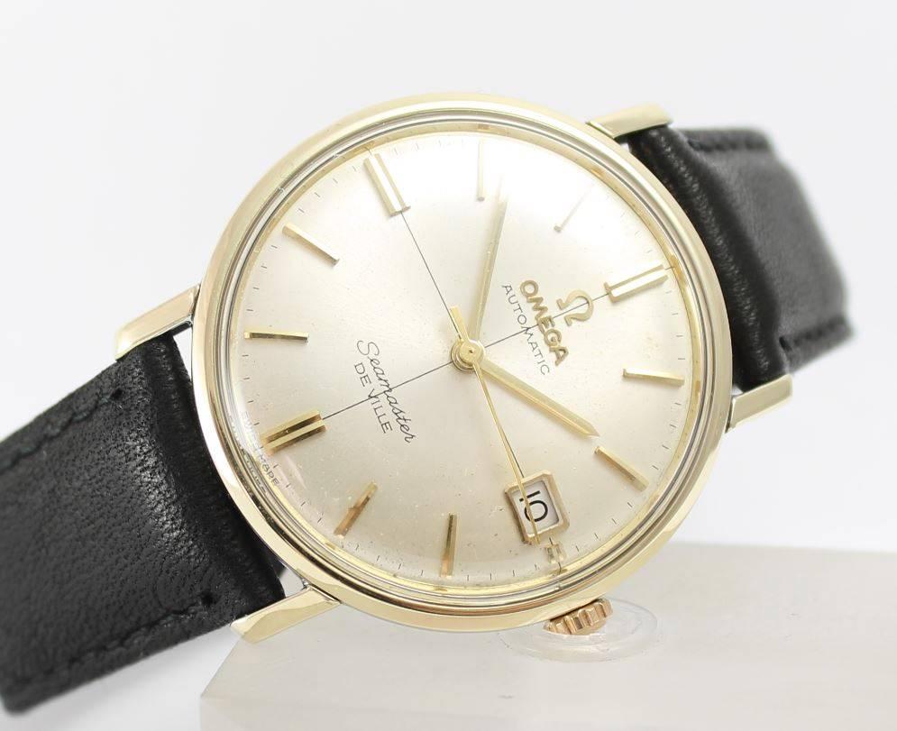 omega seamaster deville 1965 14k gold omega forums rh omegaforums net Omega Seamaster Watch 1960 Omega Seamaster Watch 1960