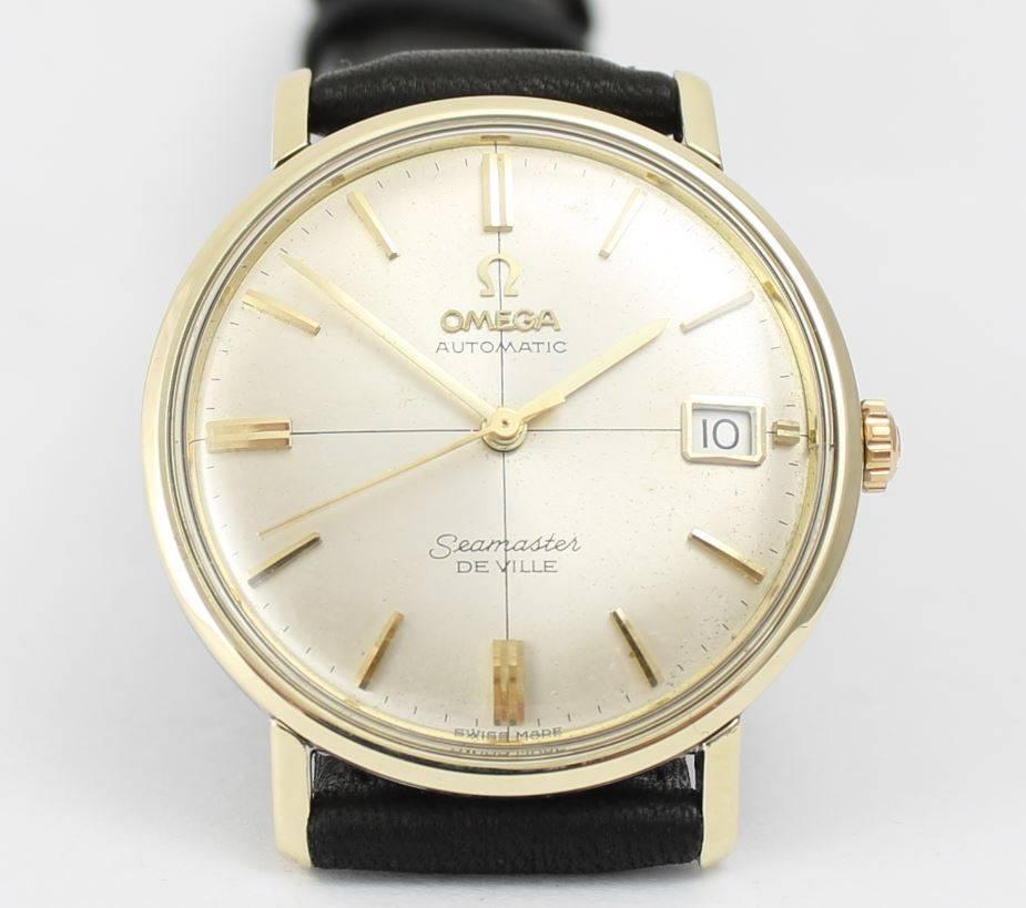 261bed7f232d Omega Seamaster DeVille 1965 14k Gold