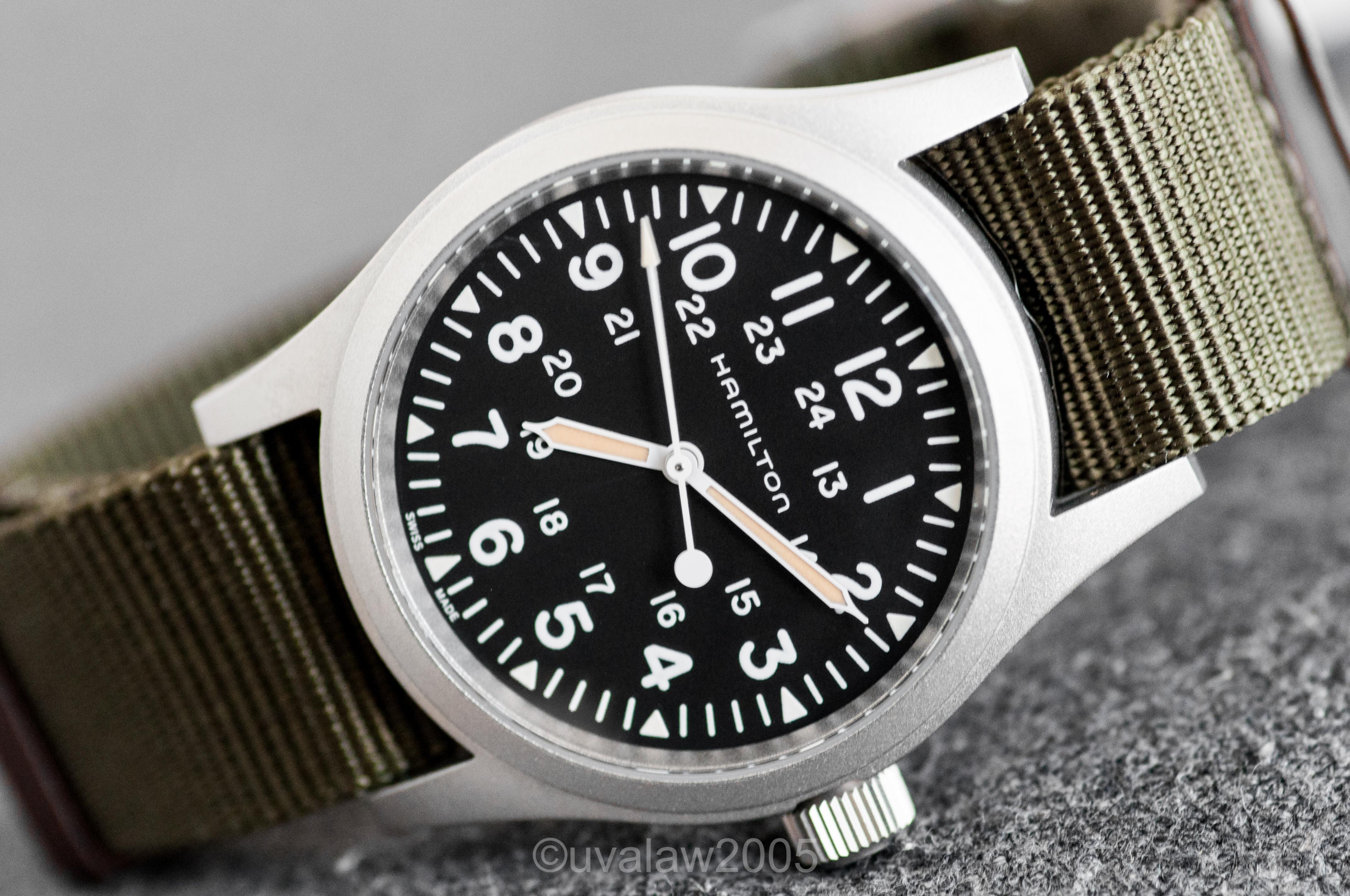 Sold Hamilton Khaki Field Mechanical 38mm Handwinding Watch