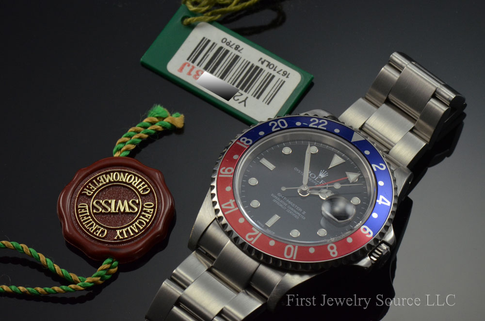 Image result for hang tags Rolex GMT 16710