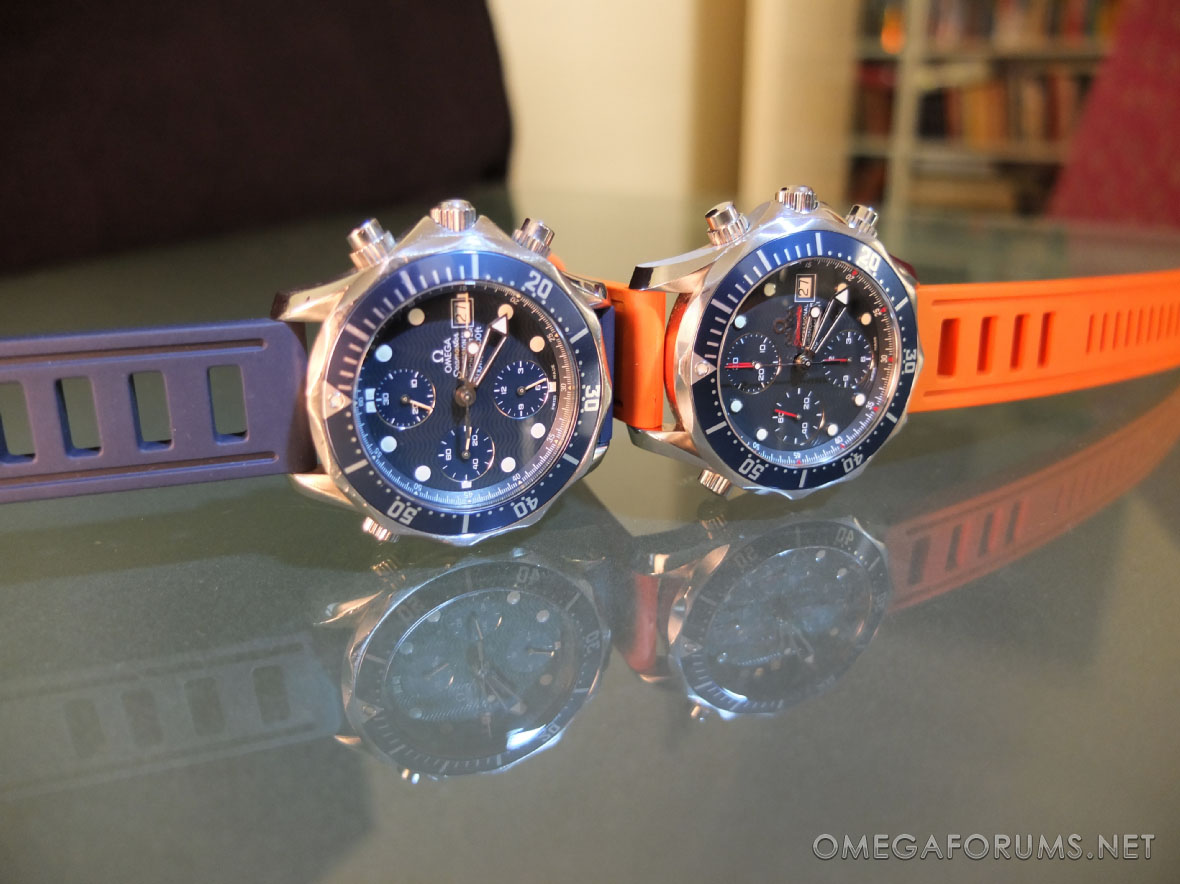 Isofrane Rubber Strap Review Omega Forums