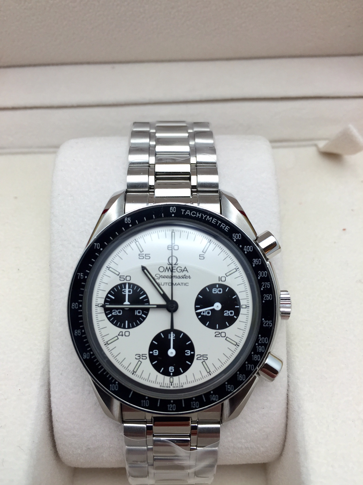 speedmaster panda date Find great deals on ebay for omega speedmaster dial see more like this omega speedmaster date automatic black dial new listing omega speedmaster panda 1750043.