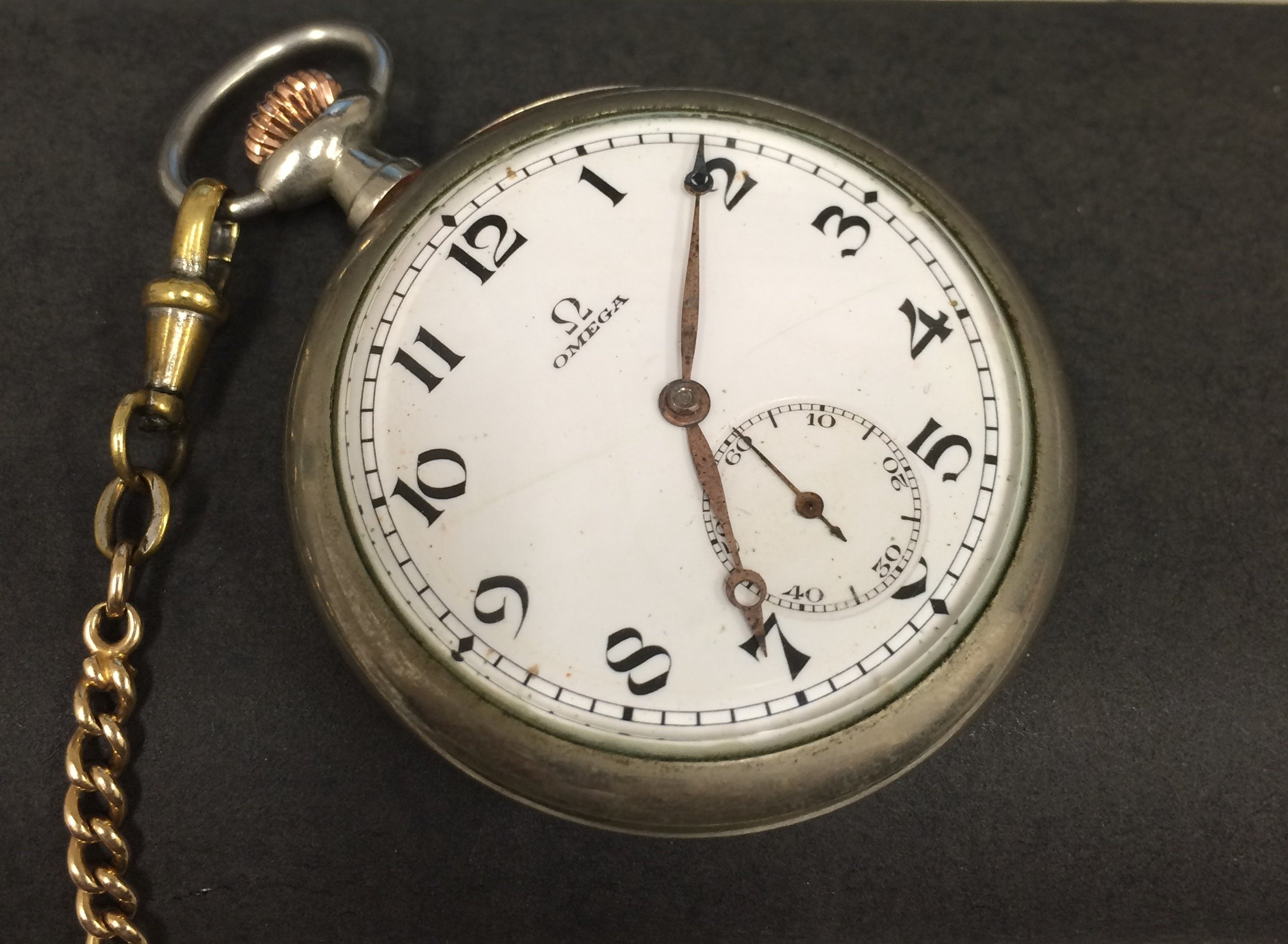 Omega Pocket Watch Gets A New Life Forums