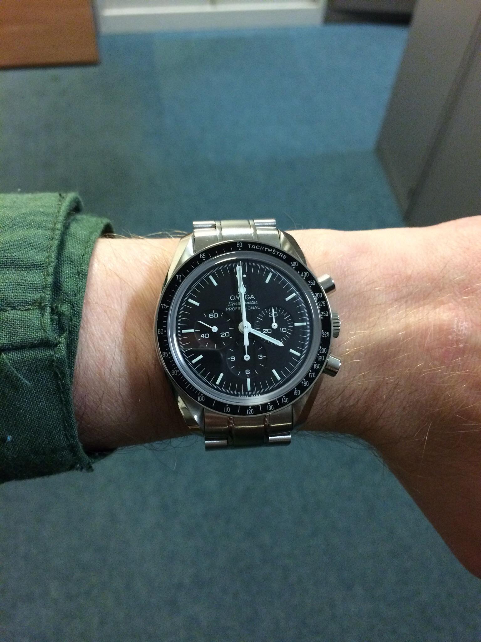 Omega Planet Ocean 6 Inch Wrist