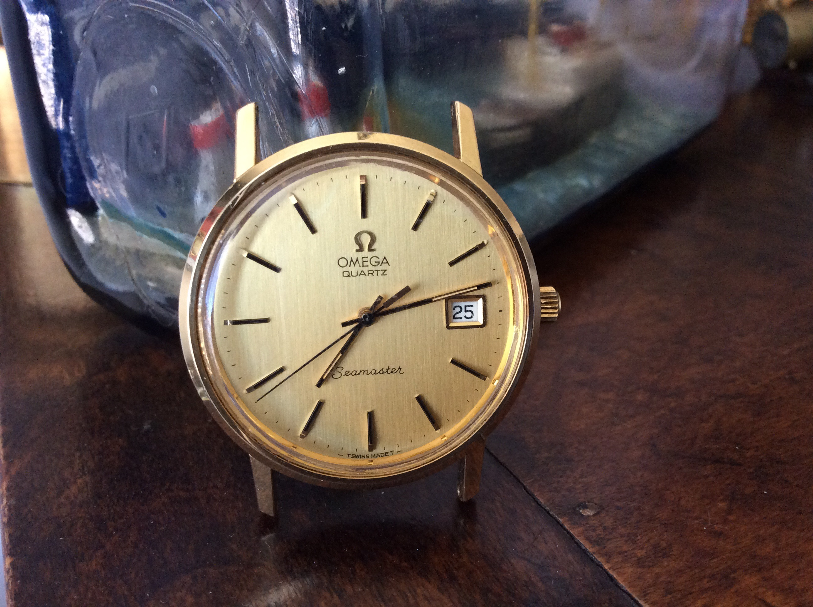 Hi, just got this quartz Omega watch with a 1342 movement. I bought the  battery with the adaptor to see if it worked. The second hand moves two  seconds and ...