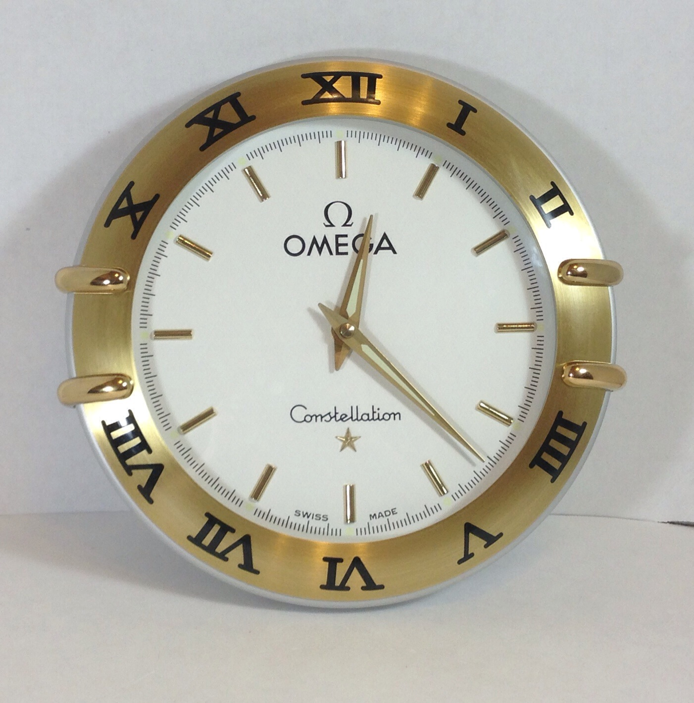 Omega constellation wall clock help omega forums imageg amipublicfo Gallery
