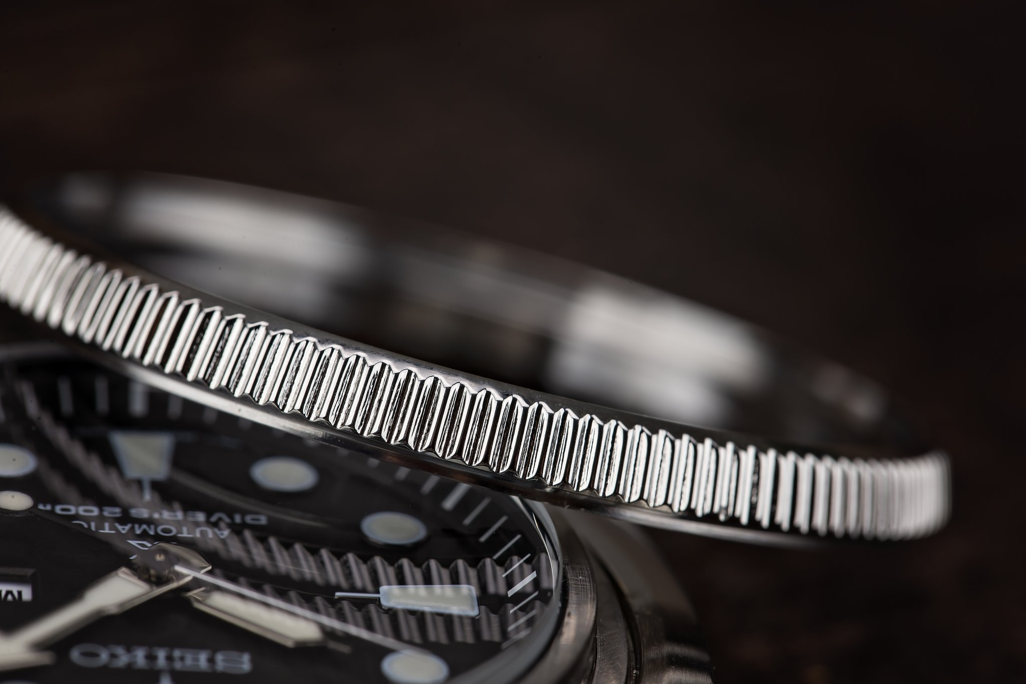 SOLD - Seiko Turtle SRP77X Stainless Steel Coin Edge Bezel from