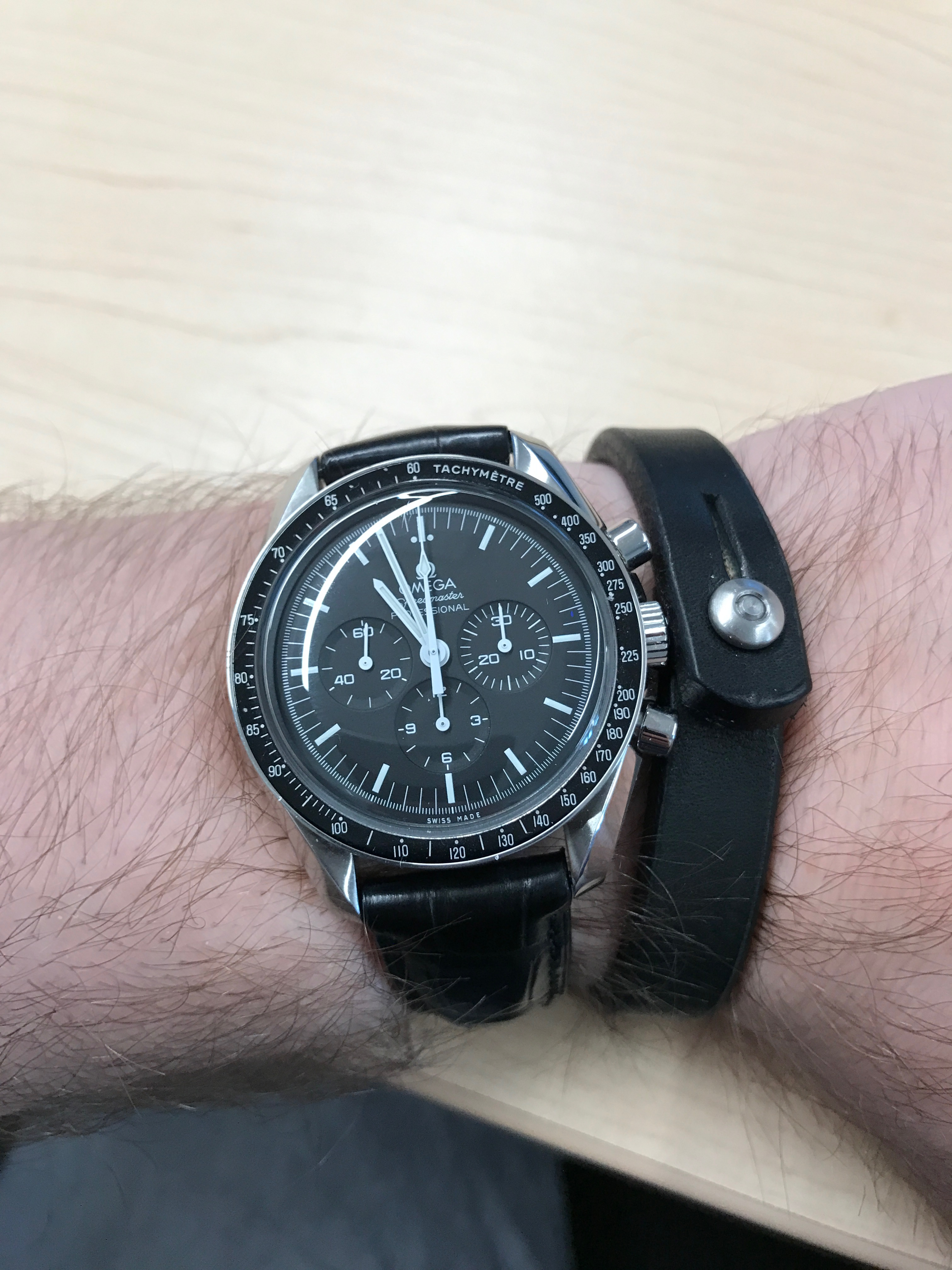 Bracelet On Same Wrist As Watch