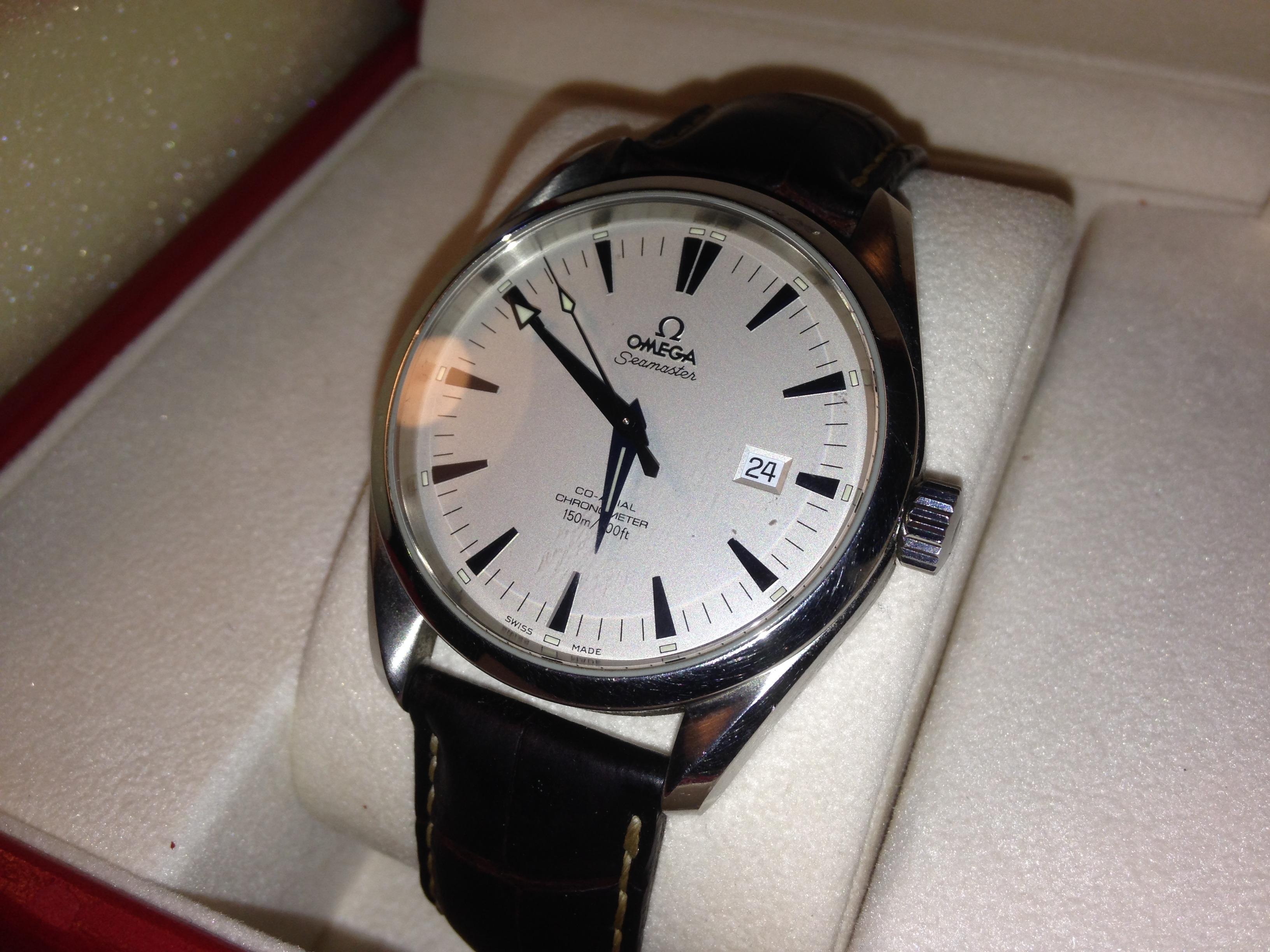 Omega Seamaster Co Axial Chronometer