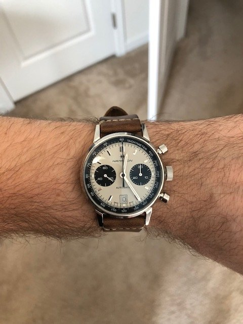 Thoughts On The New Hamilton Intra Matic Auto Chrono Omega Forums