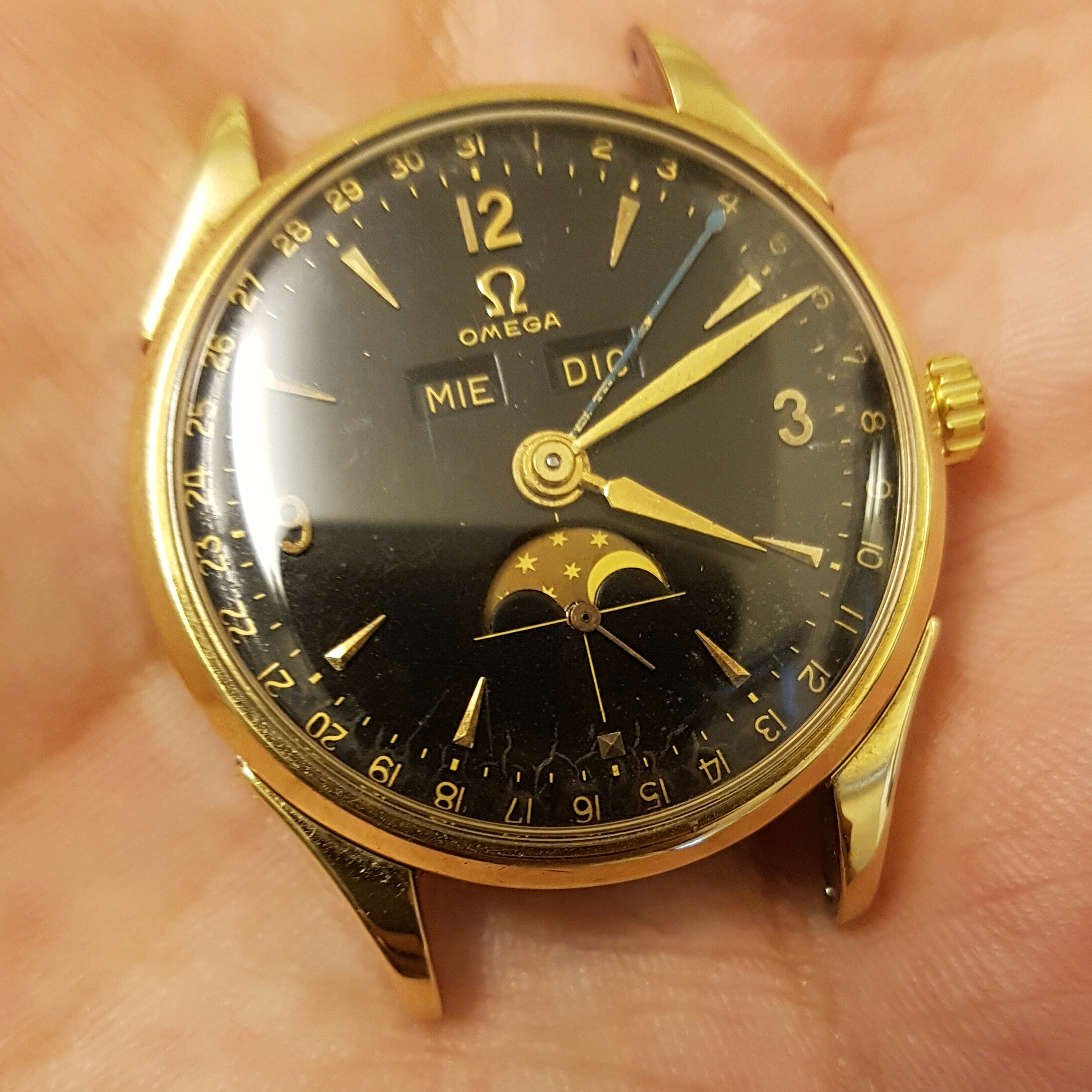 WITHDRAWN - Omega Cosmic Black Dial Moonphase | Omega Forums