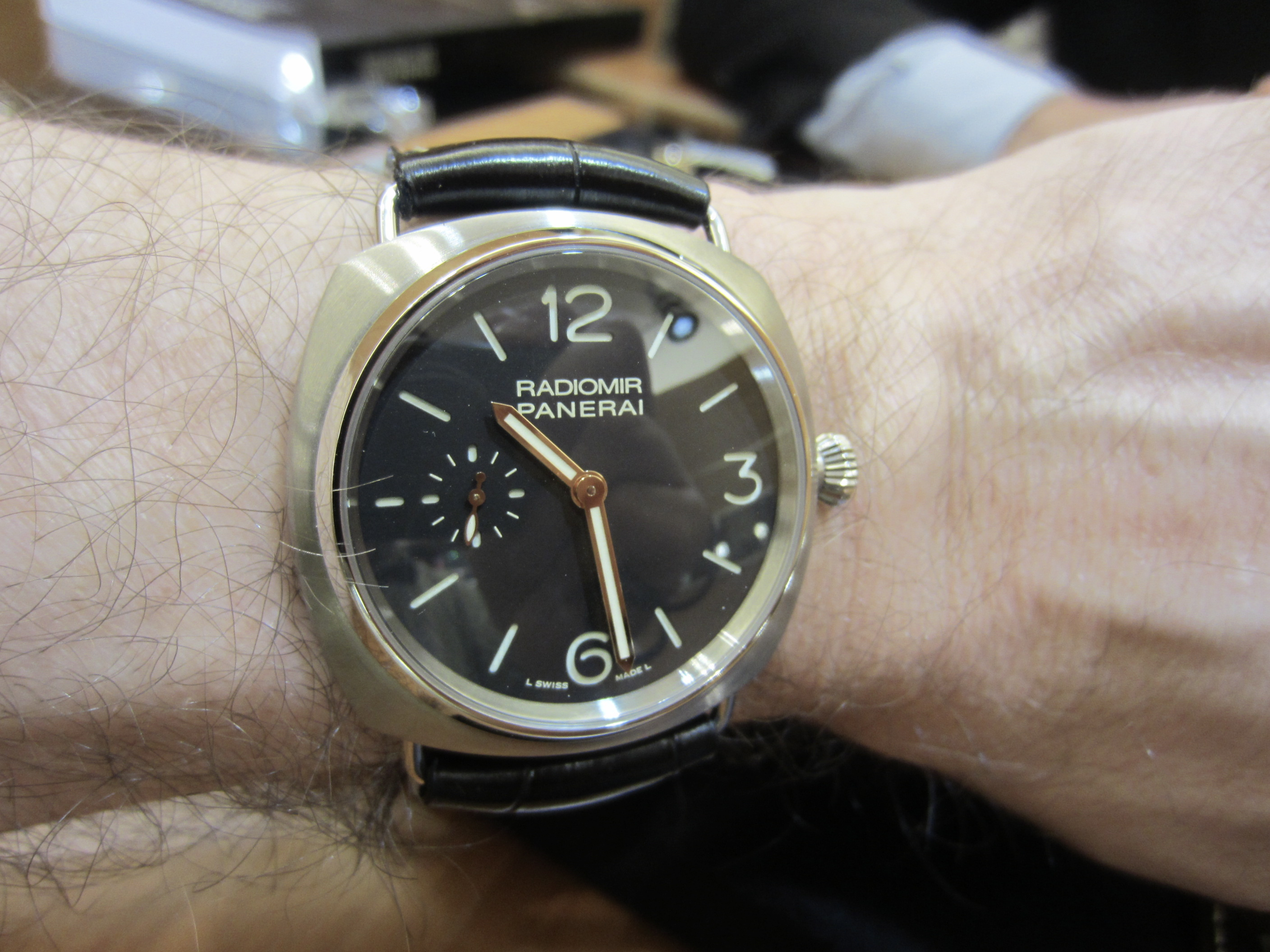 I Didn T Expect To Buy A Panerai But Omega Forums