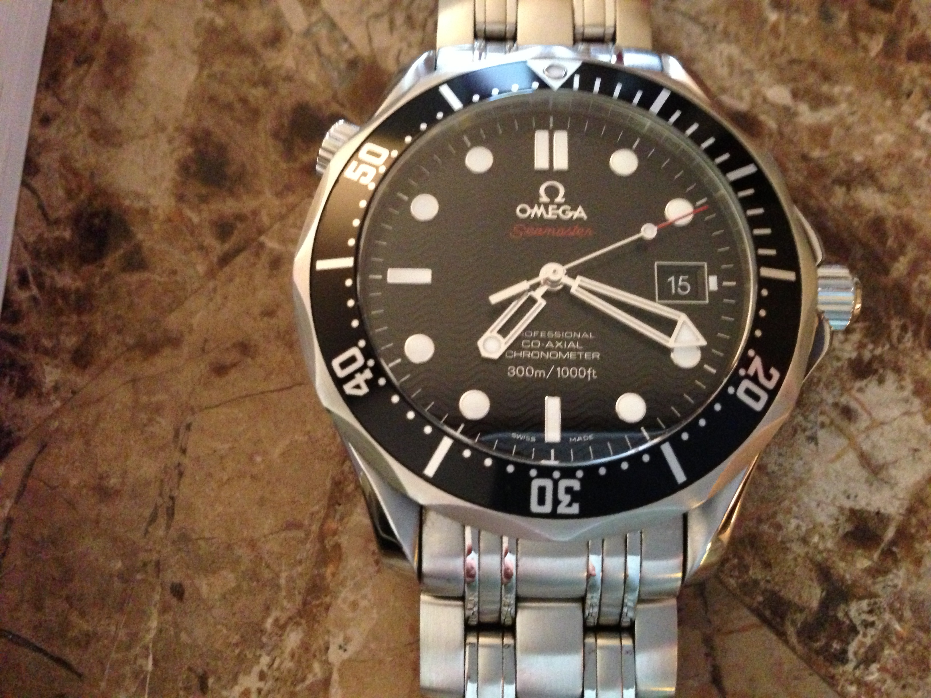 FS Seamaster Diver 300 M CoAxial 41 mm Black Dial Omega Forums