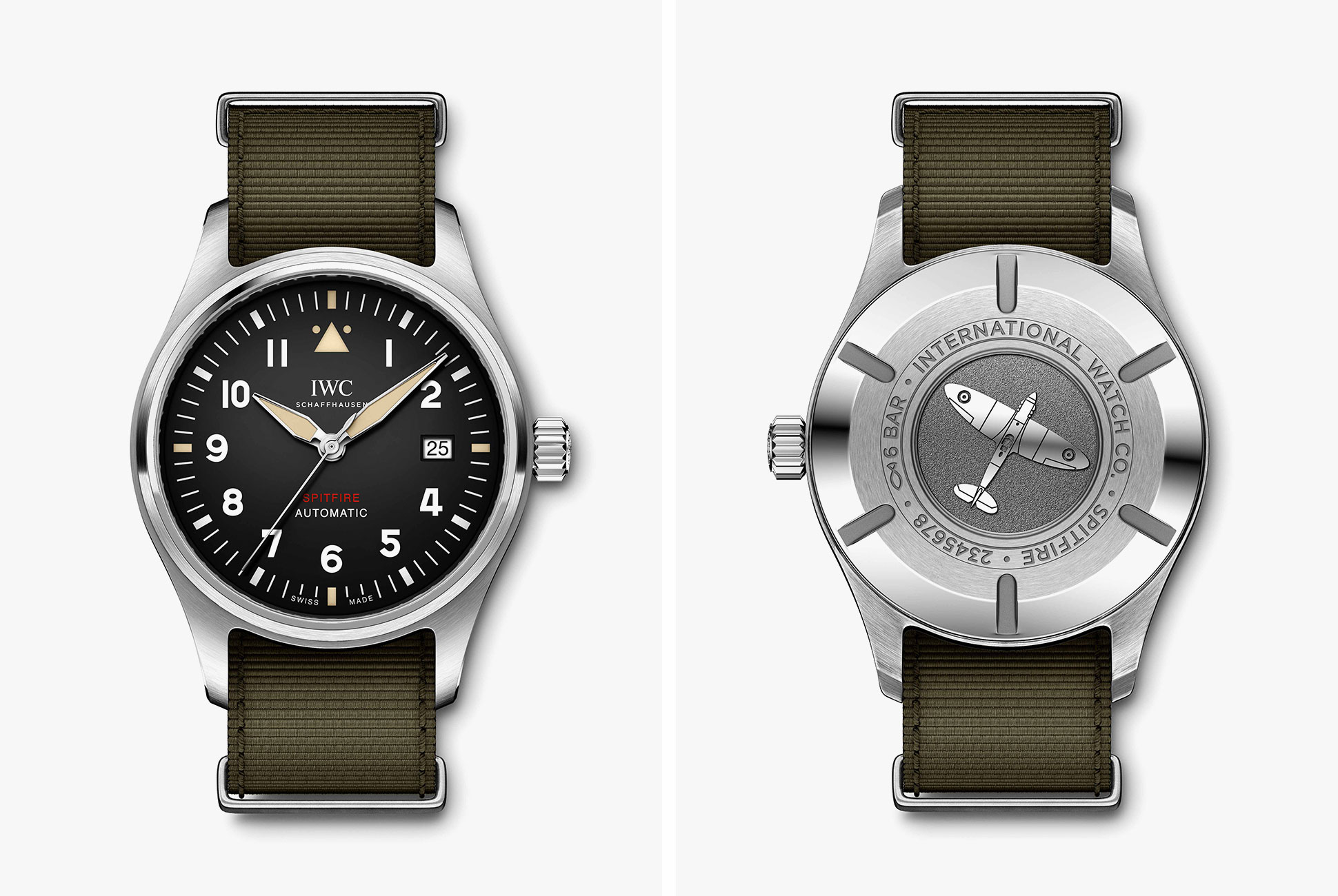 IWC 2019 Spitfire Collection looks impressive, thoughts