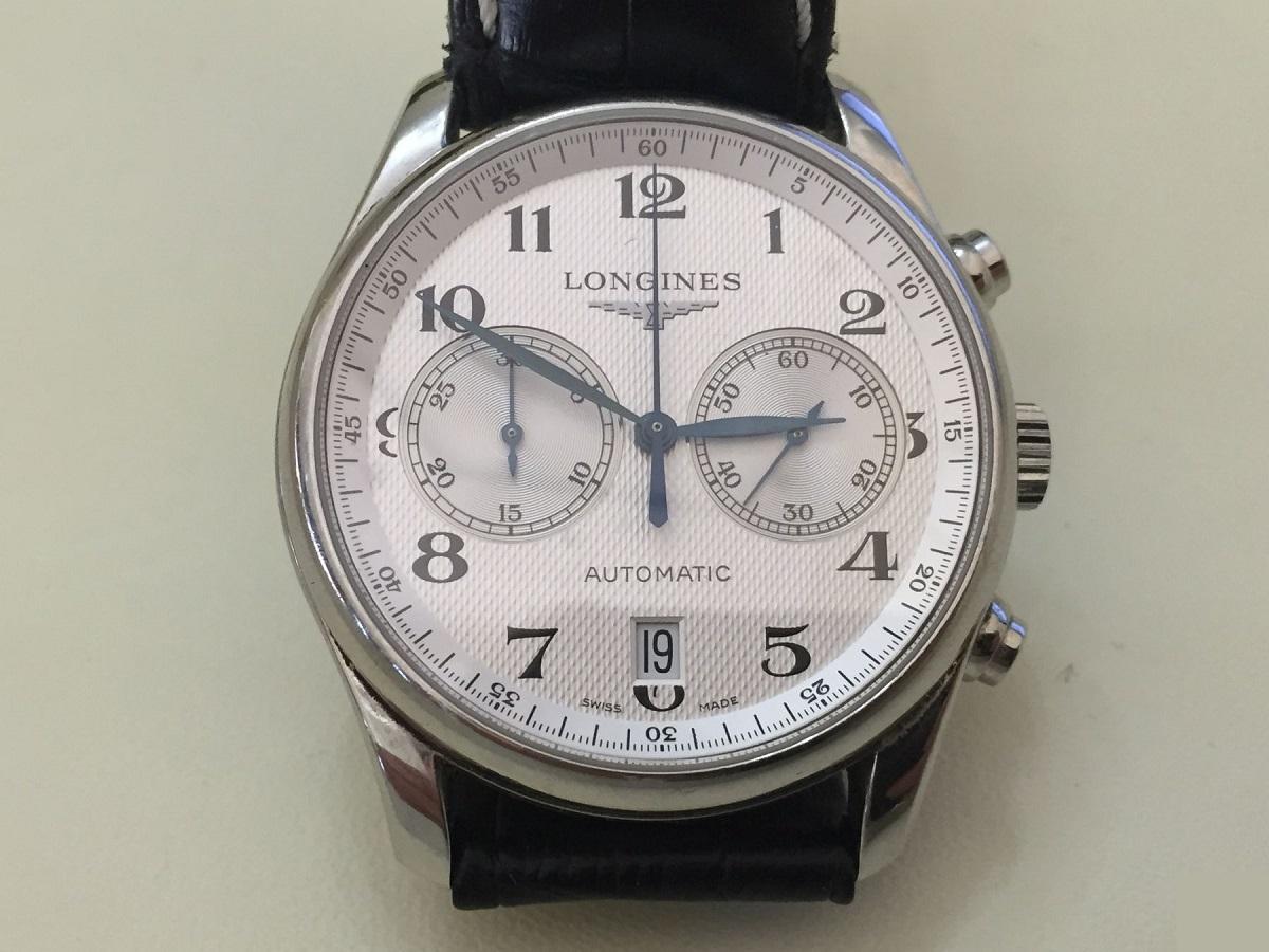 f6404a13c5e FS - Longines Master Collection L2.629.4.78.3 Chronograph 40mm Black ...