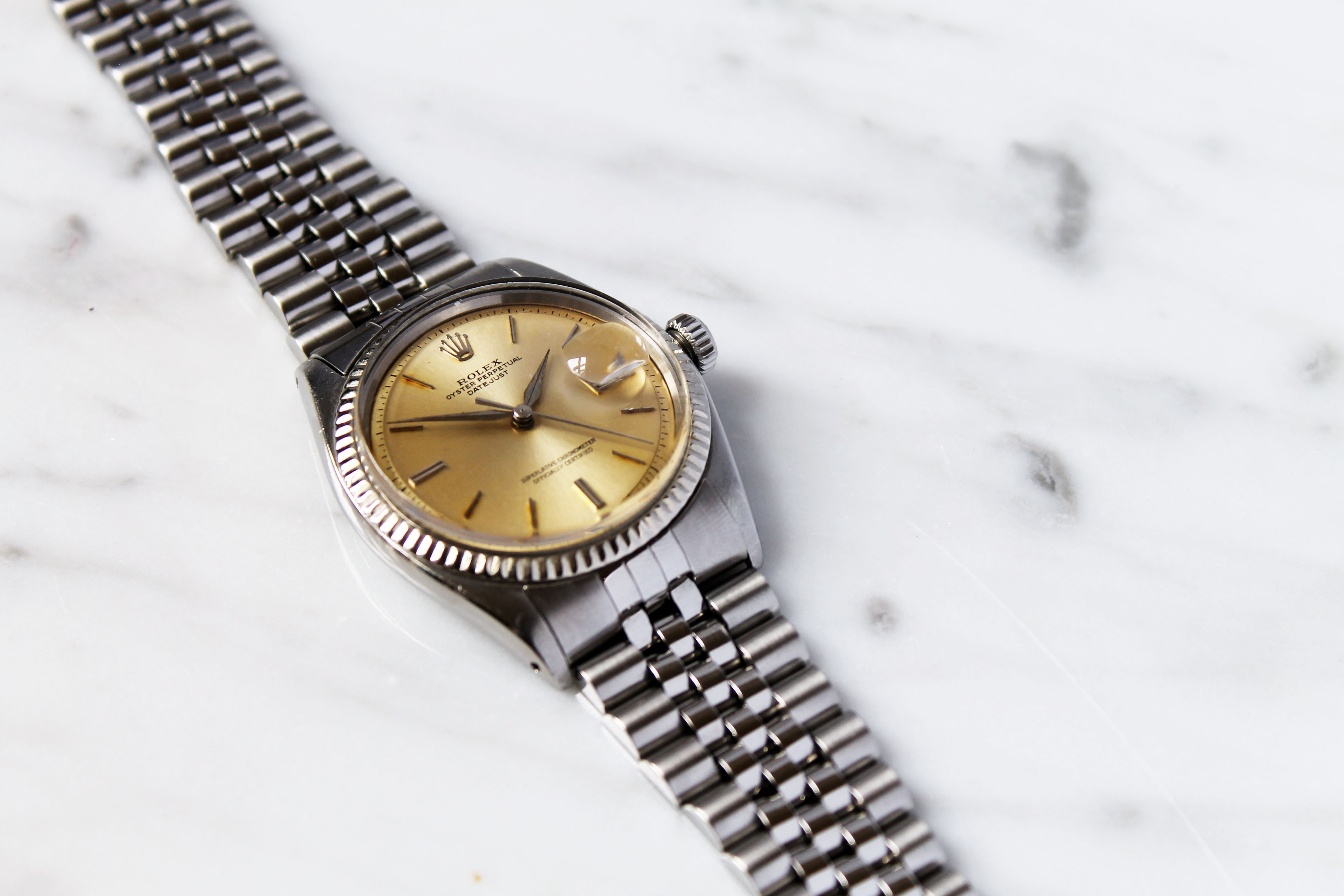 SOLD - Rolex 1601 with dauphine hands | Omega Forums