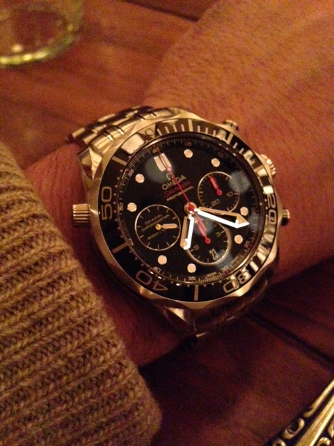 6afd6a68a Omega Seamaster 300m Diver 3330 movement chronograph   Omega Forums