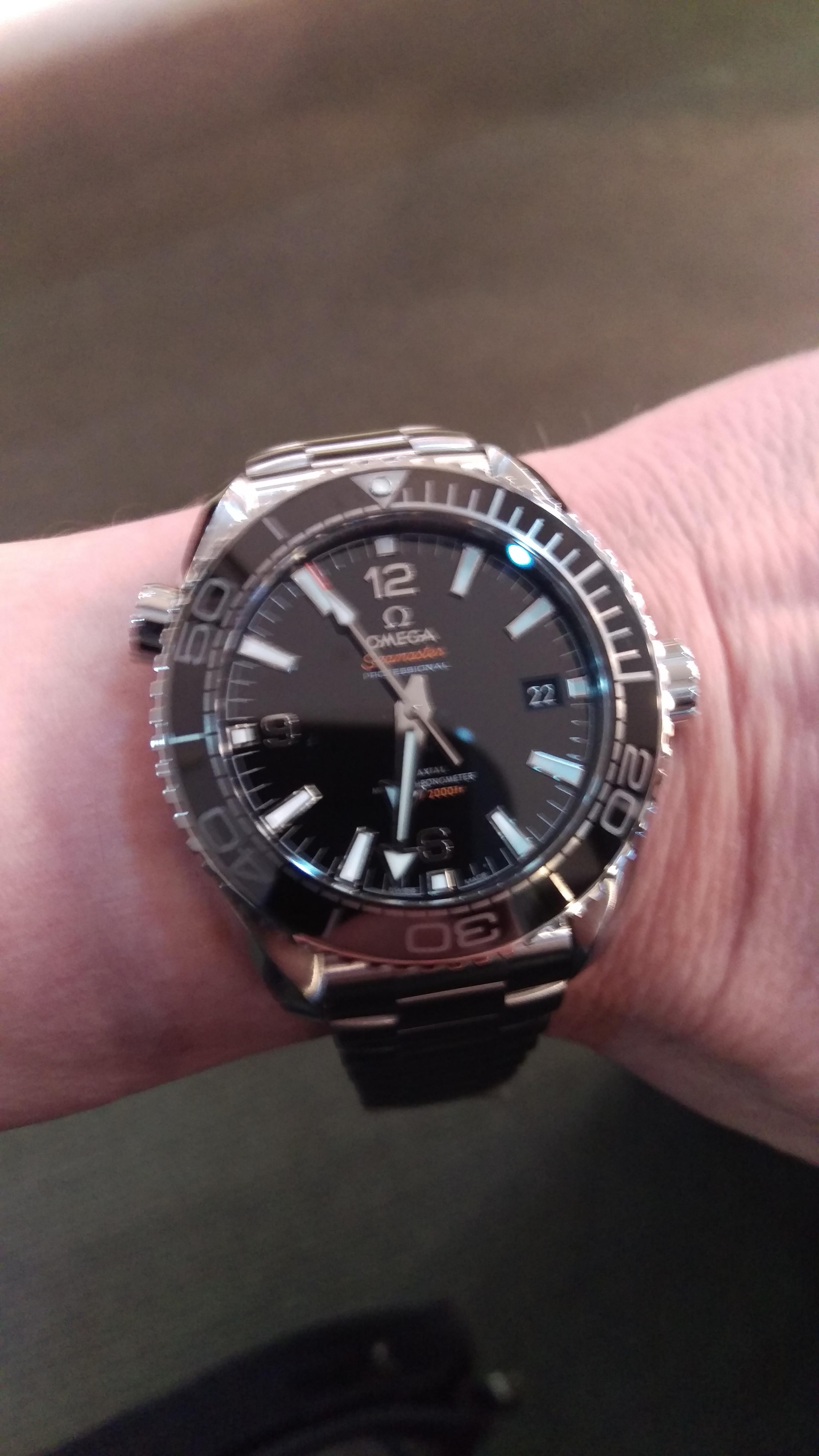 Omega Seamaster Planet Ocean 39.5mm