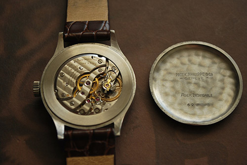 8904254ff5f Beware  Fake Patek Philippe Stainless Steel Calatrava Ref.570 being ...