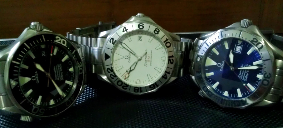 The Trio Young Timer Seamasters Omega Forums