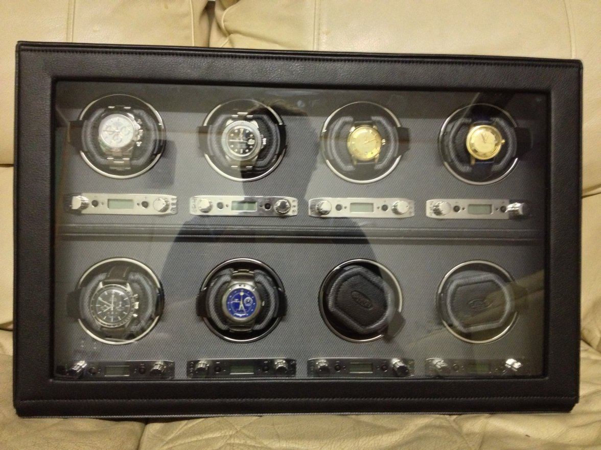 fs wolf viceroy 2 7 8 watch winder doesn t have cooties omega