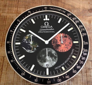 for the real omega collectionneur speedmaster wall clock