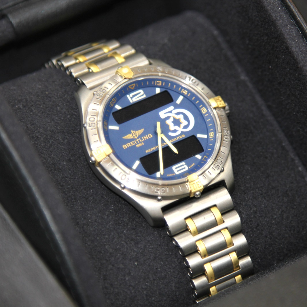 breitling aviator watch prices w1d7  Navitimer Watches 路 Breitling Aerospace Titanium Israel s th  Anniversary jpg Omega Forums