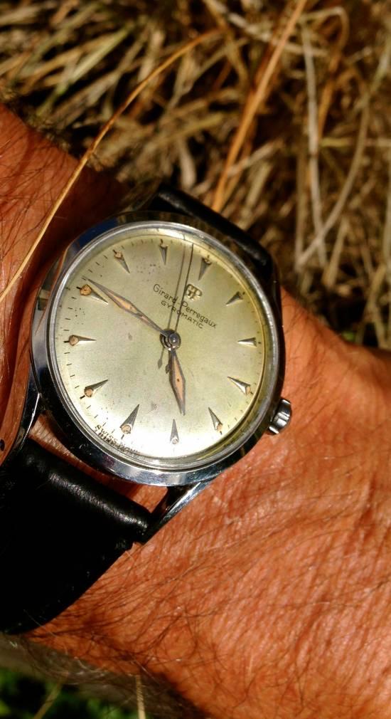 Механические часы girrard perregaux no8800