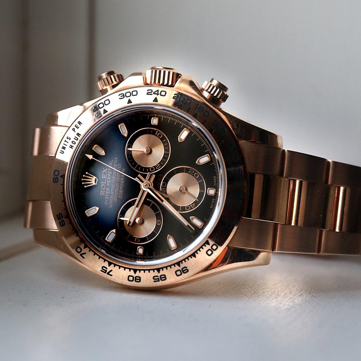 часы rolex daytona gold механика помощью