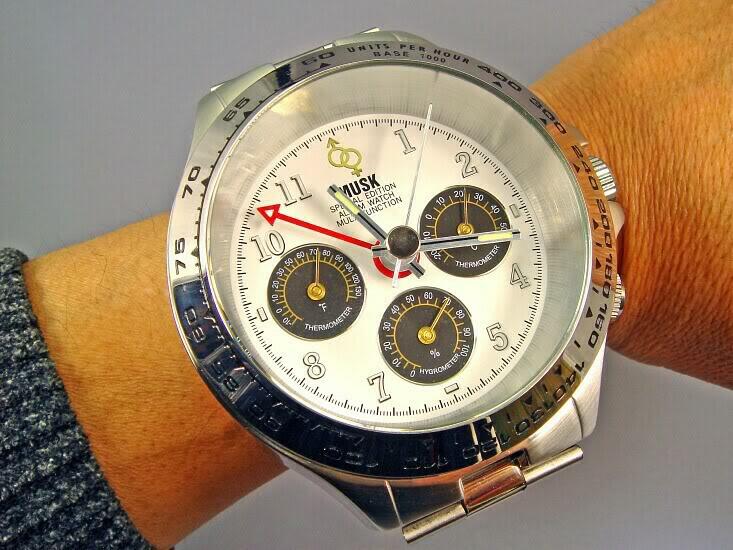 Часы мужские наручные Romanson NL1120NMGGD