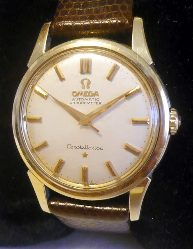 Fs Omega Constellation Gold Cap Chronometer Automatic
