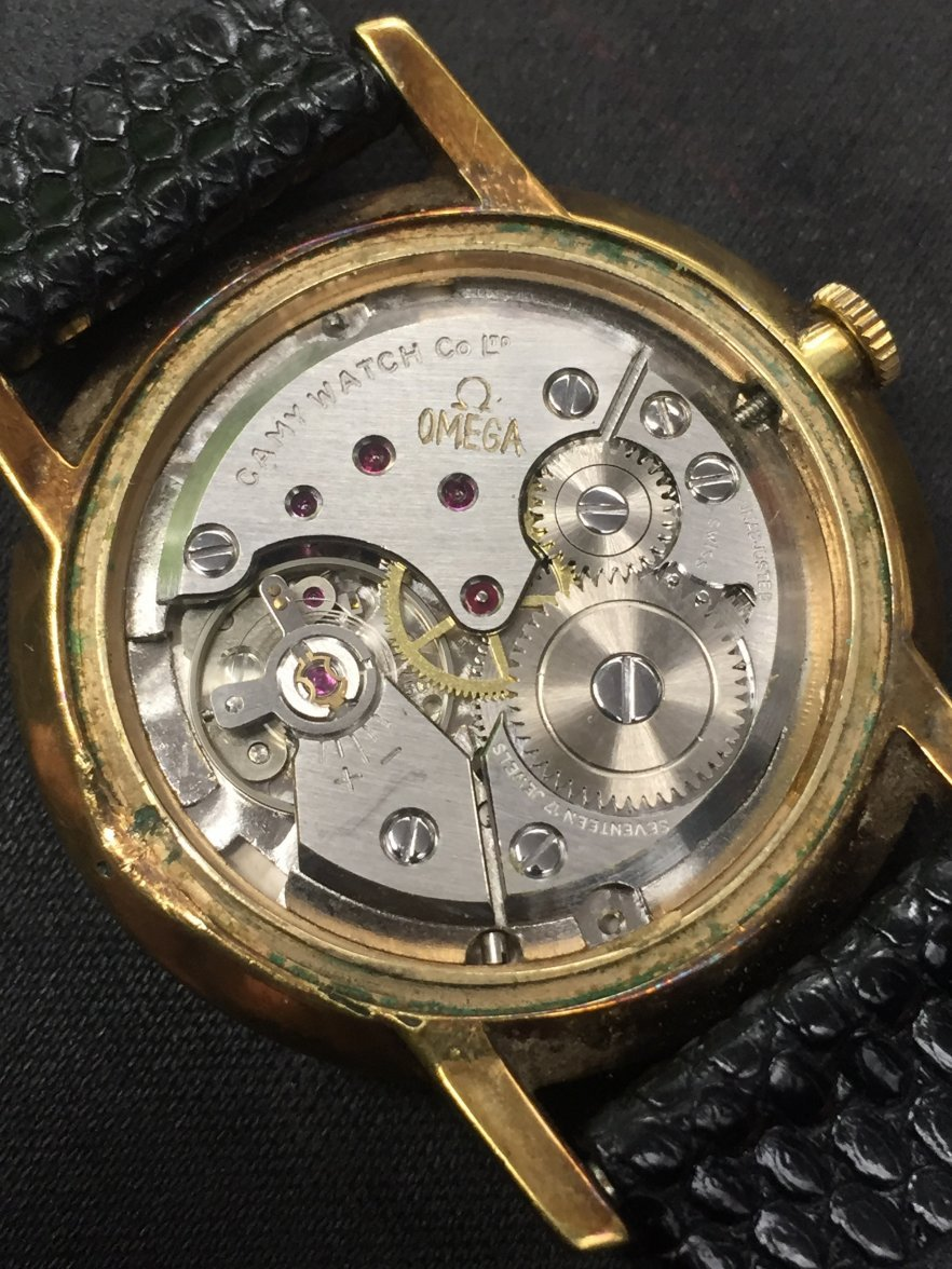 A seamaster franken watch that made me laugh on
