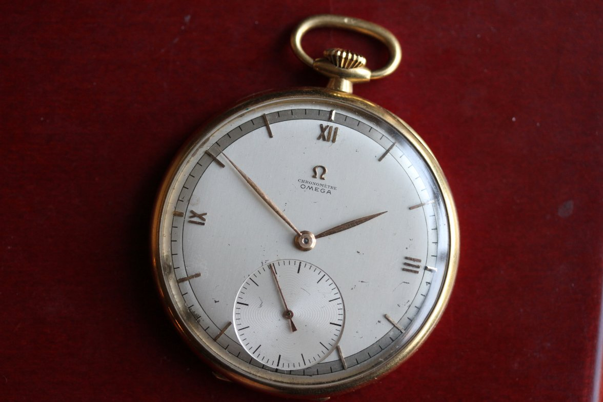 Jewelry & Watches Lovely Very Rare-omega-swiss Pocket Watch Antique