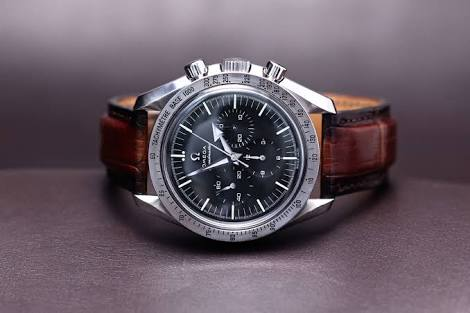Custom Leather Watch Straps For My Omega Speedmaster