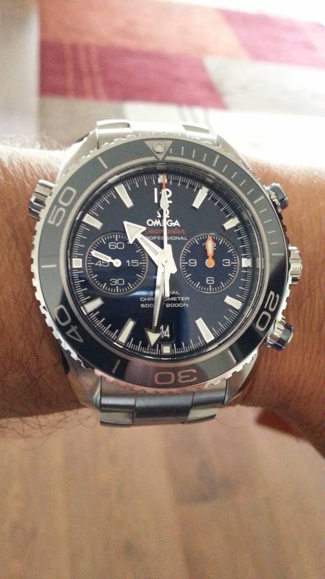 38ab5879e440 Omega Seamaster Planet Ocean Chrono Titanium 9300