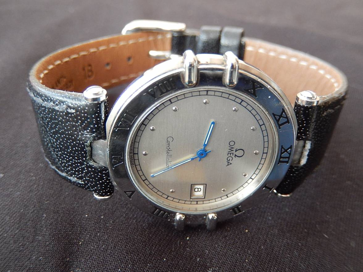 Sold Omega Constellation Manhattan Mens Quartz Watch For Sales