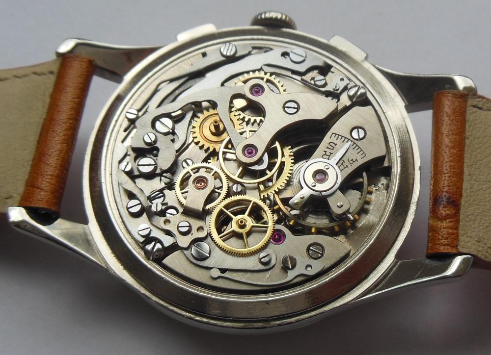 ALMADIA - Montre chrono suisse ALMADIA - 188 - Men - 1950 ...