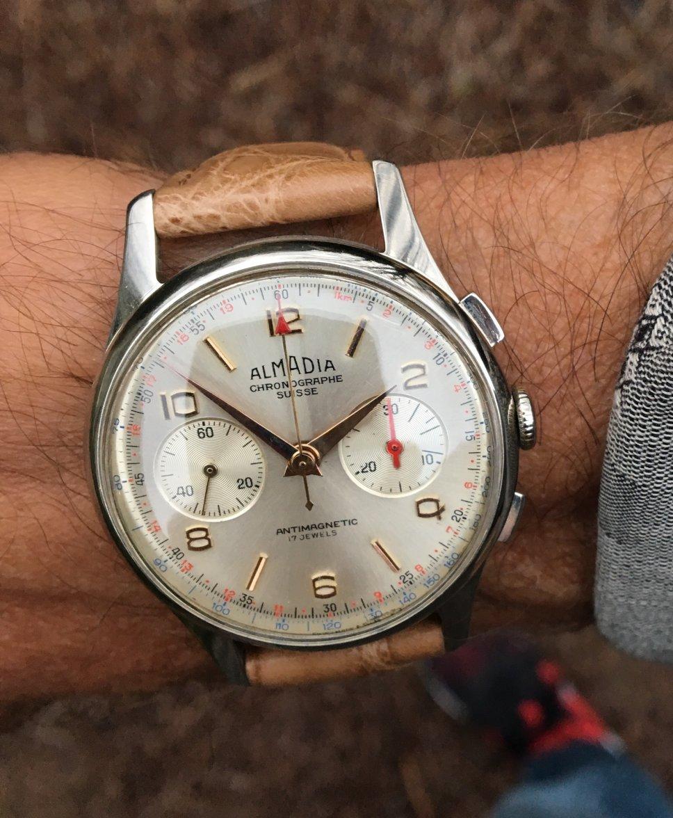 Men's watch Almadia Chronographe Suisse Original of late ...