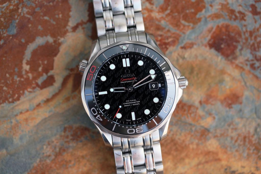 Часы омега 007