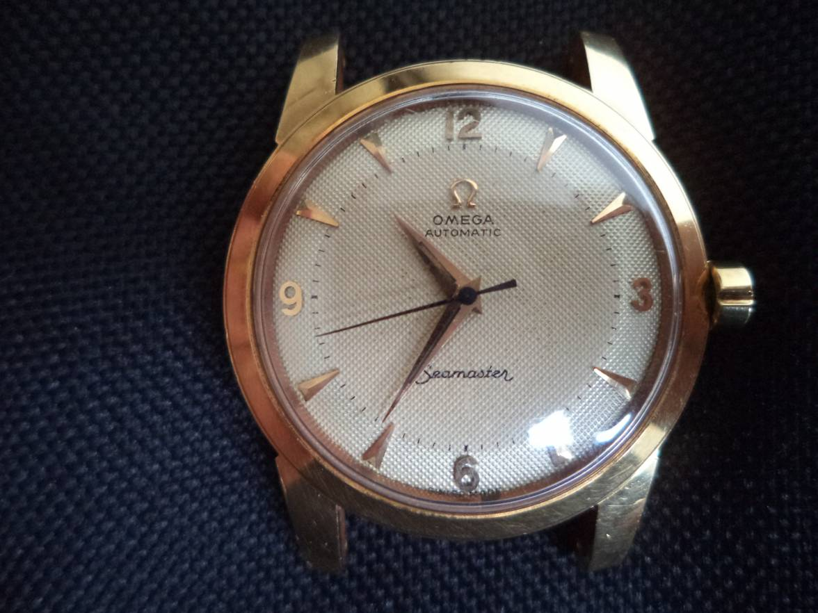 Infos about a Vintage Omega gold automatic Seamaster 1950 ...