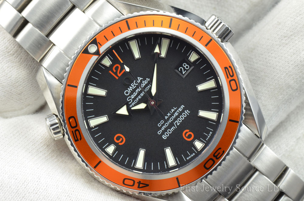 fs omega seamaster planet ocean 42mm co axial 2500d automatic