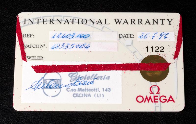 1985 omega chronograph caliber 861what do you