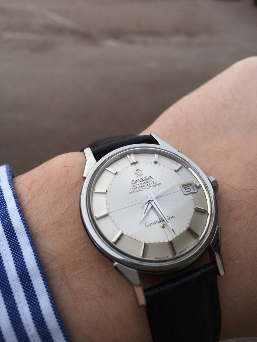 Omega Leather Watch Strap >> FS - Omega Constellation Pie Pan- Stainless Steel 168.005 - Cal. 564 - 1967 | Omega Forums