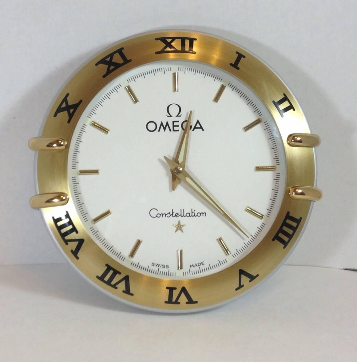 Omega constellation wall clock help omega forums for Omega speedmaster wall clock