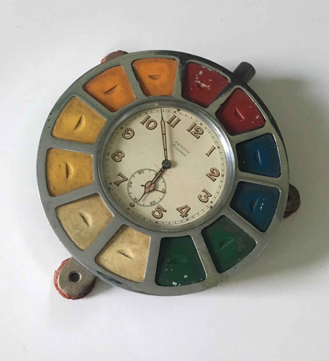 Zenith Aircraft Carrier Clock - the Cairelli Roulette
