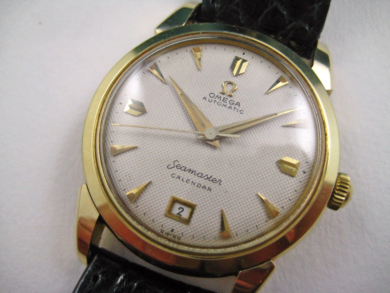 Omega Seamaster Calendar Vintage : Seamaster calendar dial omega forums