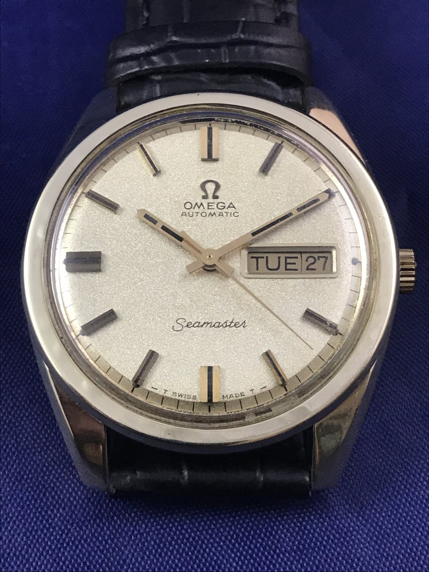 340017da8dd1 FS  Vintage Omega Seamaster Day   Date Jumbo Size Automatic Watch ...