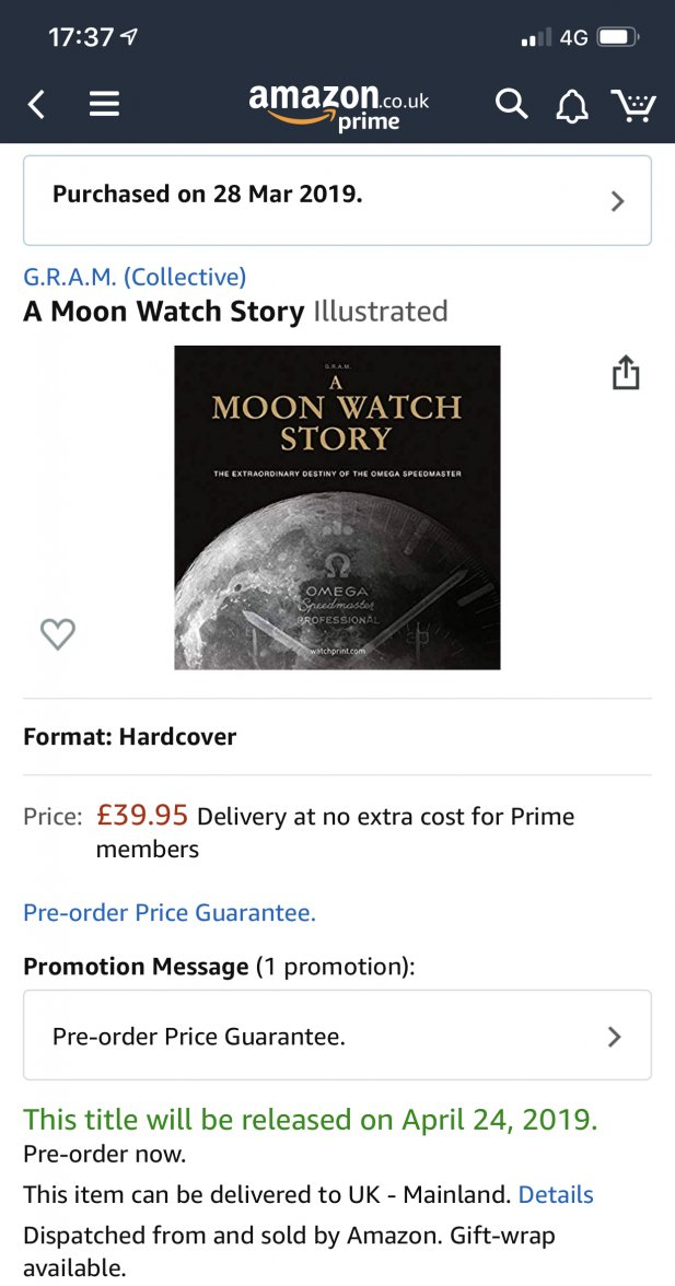 New Book A Moon Watch Story Omega Forums